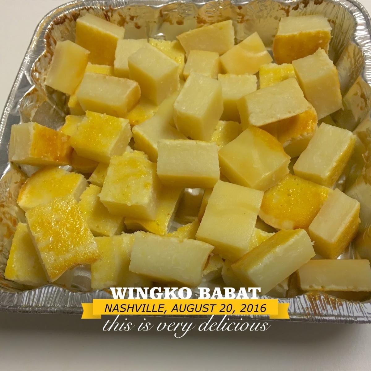Wingko-Babat
